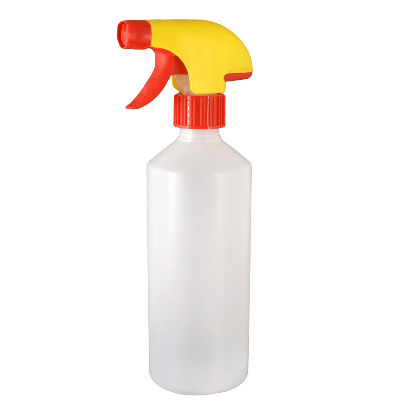 1L HDPE Bottle Pack with Red/Yellow Trigger Spray